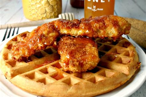 the best chicken and waffles recipe honey chicken and waffles and food