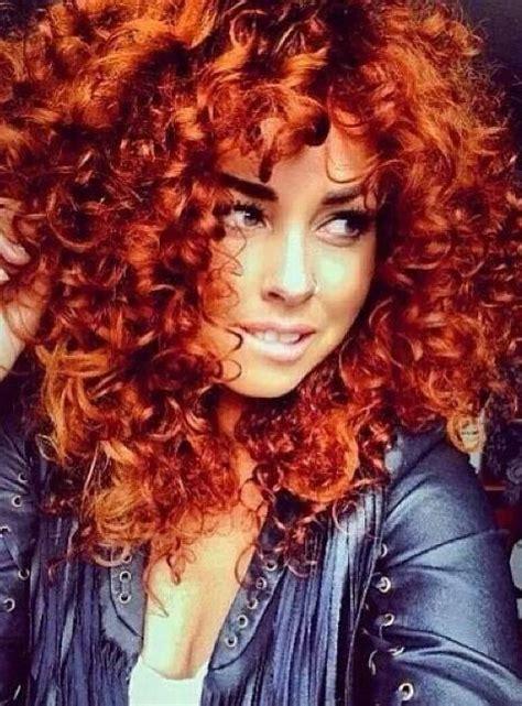 bright hair color for curly hair flame hair elevynn hair hues pinterest hair flame