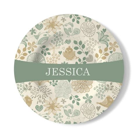 personalised decorative wall plate for home decor bags