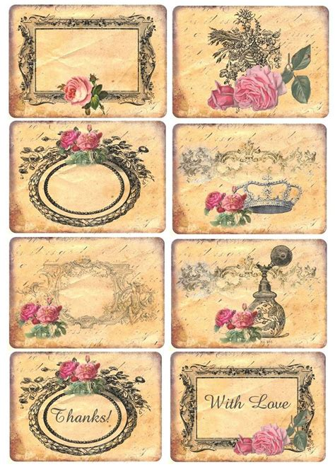 printable victorian tags the 169 best images about diy victorian vintage free