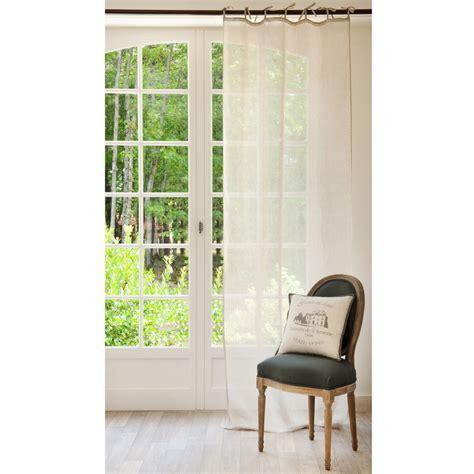 tende con laccetti tenda beige in lino con laccetti 105 x 300 cm maisons du