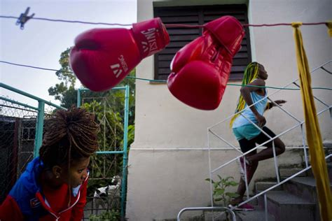 female backyard boxing forming cuba s first women s boxing team