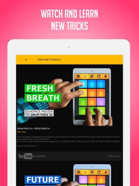 best drum tutorial app drum pads 24 make beats and music screenshot