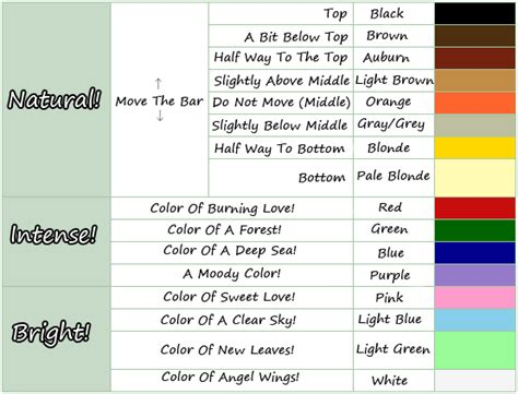 acnl hair acnl hair color guide animal crossing pinterest