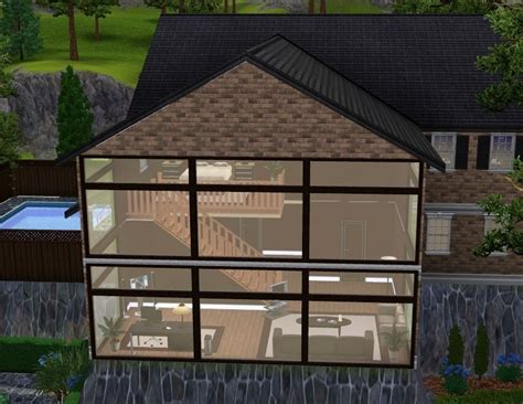 two story master suite mod the sims woodland estate
