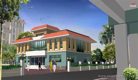 Parking Lot Floor Plan by Trishul Shalini Heights Undri Pune Apartment Flat