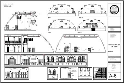 concrete dome house plans