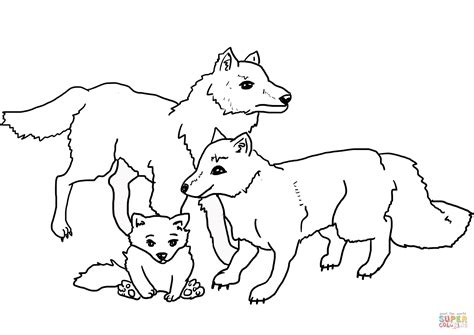 wolves coloring pages wolves familiy coloring page free printable coloring pages