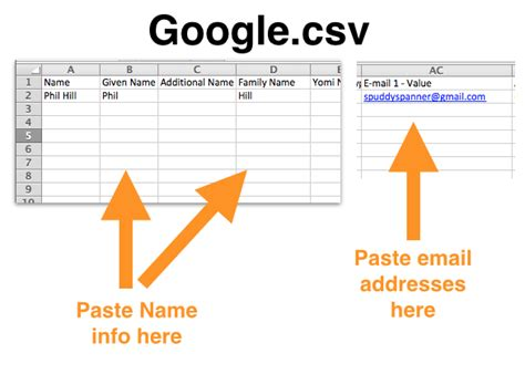 contacts csv format template how to solve problems of importing to contacts