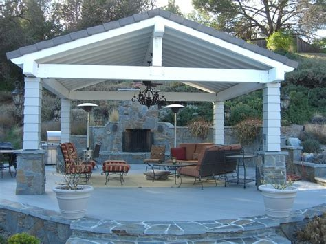 Free Standing Patio Cover Designs Patio Covers