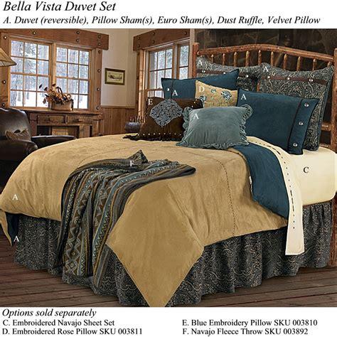western bedding vista western bedding duvet set