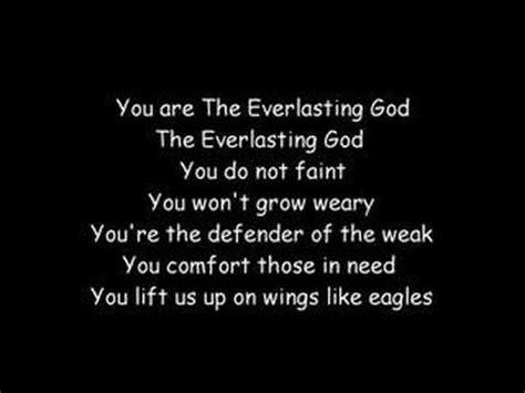 God Of All Comfort Lyrics by C Everlasting God K Pop Lyrics Song