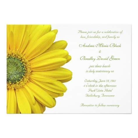 diy gerbera wedding invitations 65 best wedding theme ideas images on