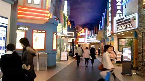 ikspiari shopping mall  tokyo diseny resort youtube