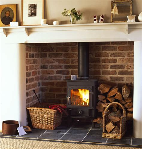 Log Fireplace by Ten Ways To Be Greener In 2015 Country Living Magazine Uk