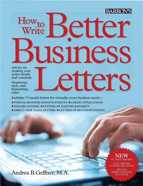 Business Letter Books how to write better business letters newsouth books