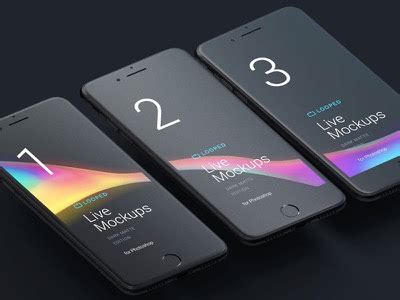 Samsung S8 Ultimate Real Fingerprint 5 mobile wireframe prototyping templates gui kits free