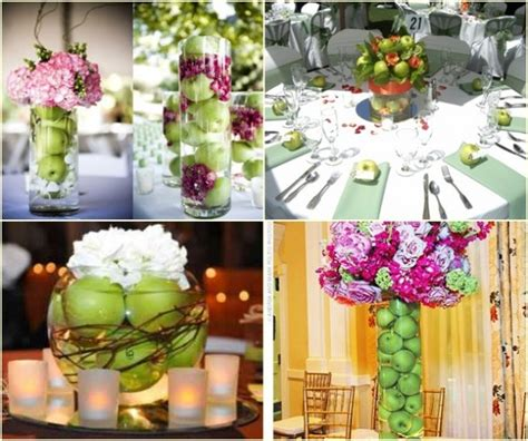 apple decorations table talk wedding apples table 6 productions