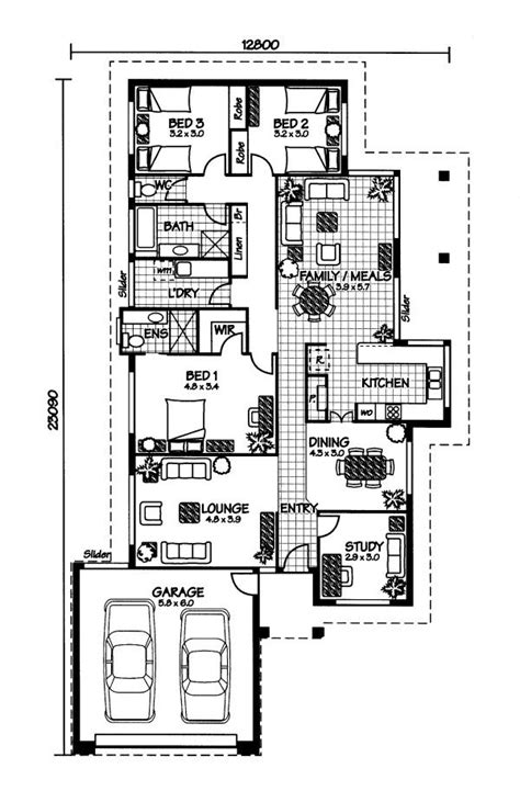 house plan australia the orpheus 171 australian house plans