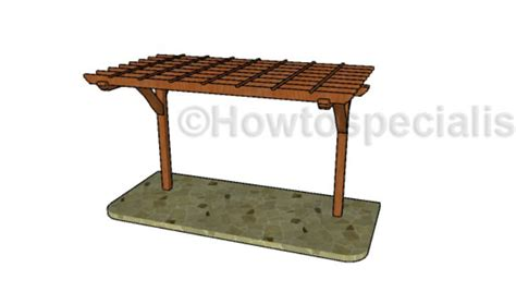 two post two post pergola outdoor goods