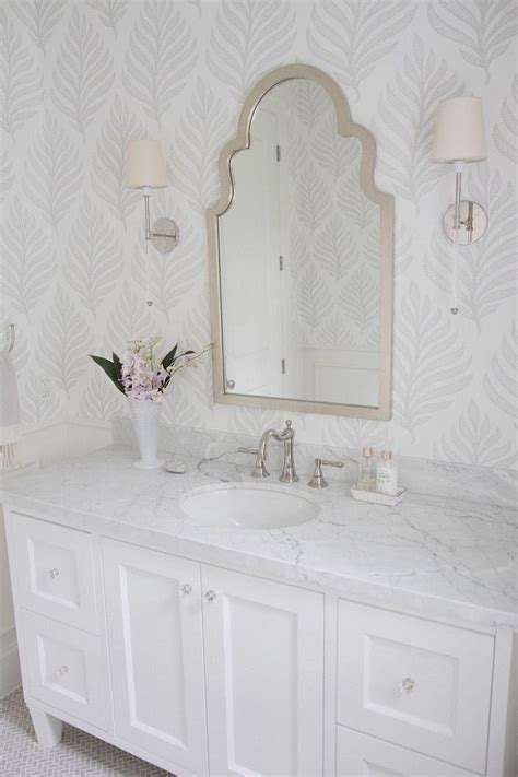 wallpaper bathroom designs 20 beautiful wallpapered bathrooms