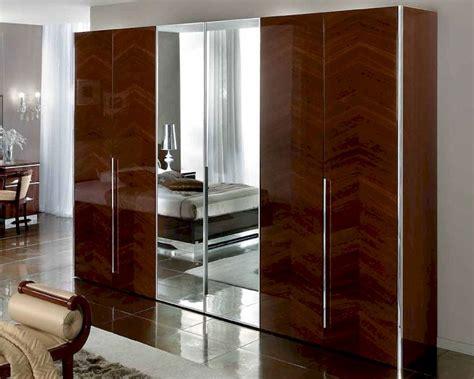 Modern Platform Bedroom Sets italian 4 door wardrobe matrix contemporary style 33161mt