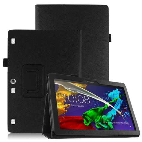 Flip Cover Tab Advan E1c folio flip leather cover stand slim for lenovo tab 2 a10 70 10 1 quot tablet ebay