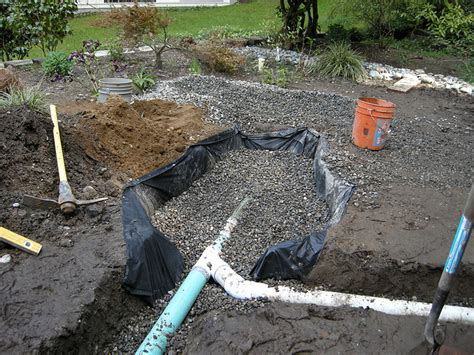 drainage in backyard backyard drainage pit outdoor furniture design and ideas