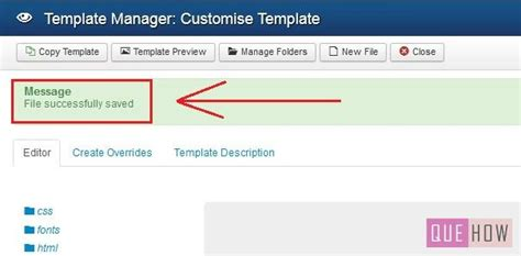 how to edit joomla template how to edit template css in joomla 3 x 6 steps with