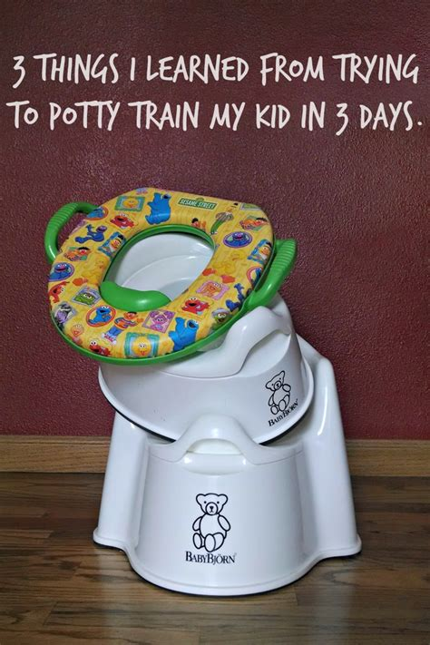 how to potty a in 6 days 3 things i learned from trying to potty in 3 days evolving motherhood