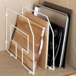 vertical tray dividers kitchen cabinets 12 quot tray divider divider container store and sheet cake pan