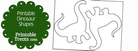 free printable dinosaur shapes free printable dinosaur shapes printable treats com