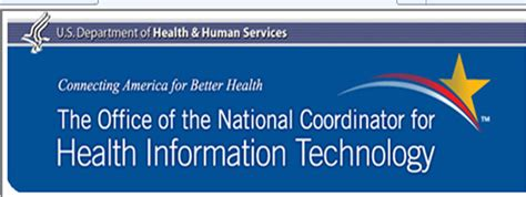 Office Of National Coordinator by Onc Goes For New Look For Web Site Logo Slogan E
