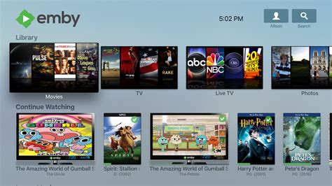 now tv layout apple tv app now with live tv and improved layout emby