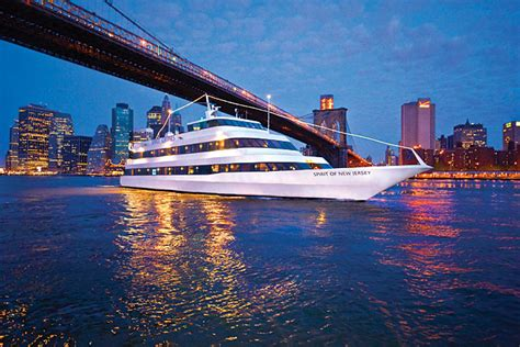 boat ride jersey city hudson river dinner cruises in nyc spirit cruises