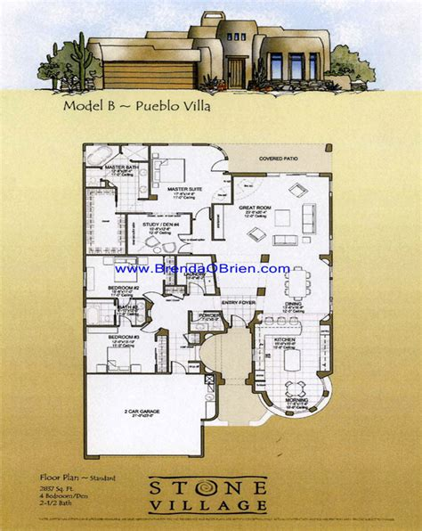 pueblo house plans tucson arizona pueblo floor plan b