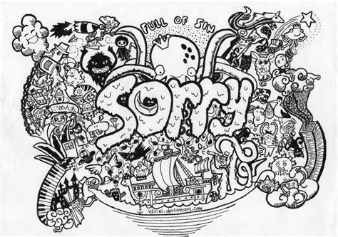 Doodle Name 5 doodle sorry by vsciel on deviantart