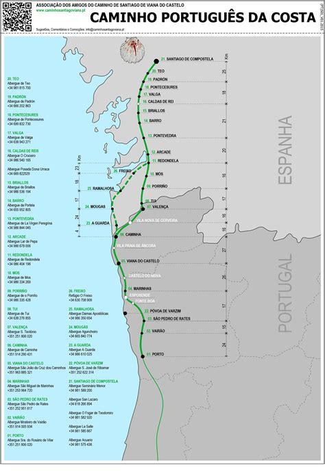 camino portugu s lisbon porto santiago central and coastal routes books the portuguese camino camino portuguese