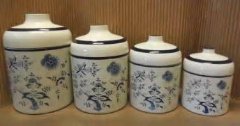 Pig Kitchen Canisters by Nesting Canisters Set Of 4 Country Shabby Chic Vintage