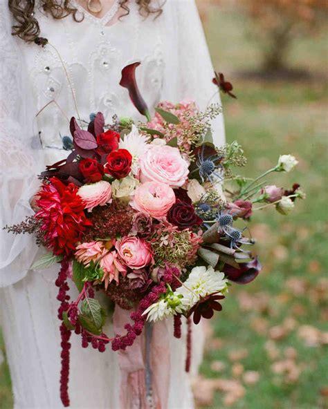 Bridal Floral Bouquets by 53 Gorgeous Fall Wedding Bouquets Martha Stewart Weddings