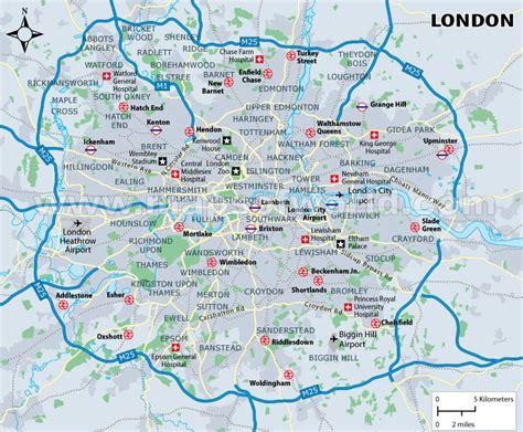 london sections map london united kingdom tourist destinations