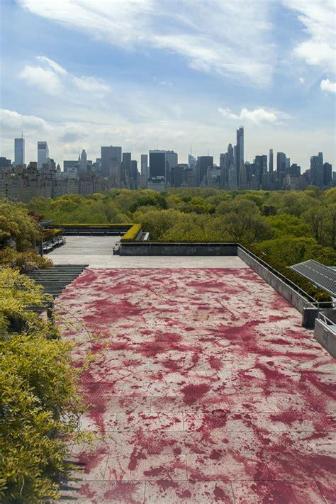 roof garden metropolitan museum of let it bleed the frightening on the met s roofartnews