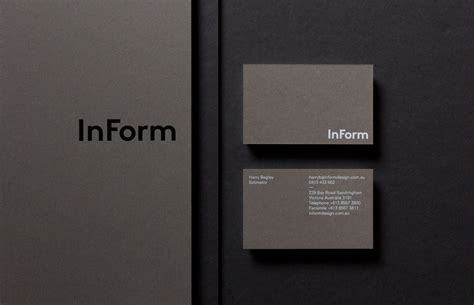 creative architecture firm names new brand identity for inform by hofstede bp o