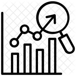 competition analysis icon   style   svg