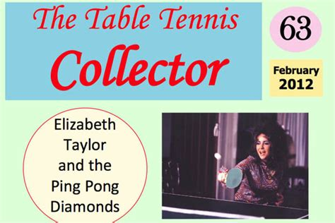 The Table Tennis Collector Table Tennis