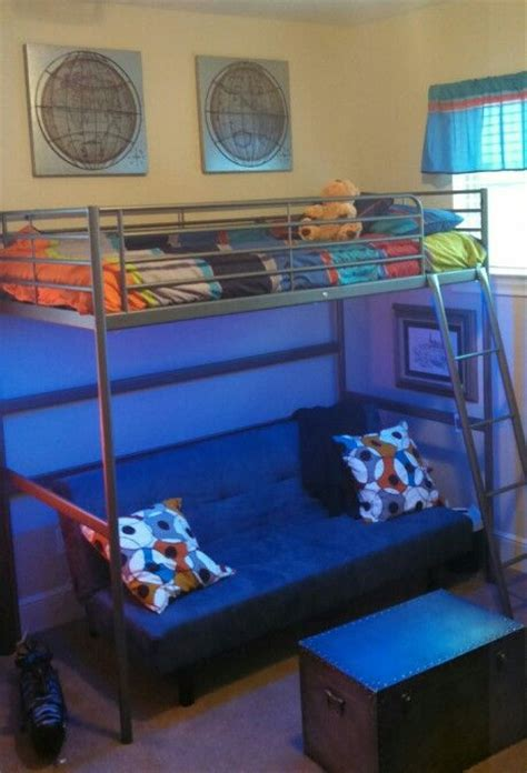 lights loft bed tween boy s room led lights loft bed with sofa bed