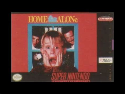 Home Alone Part 1 by Let S Play Home Alone Part 1 Snes