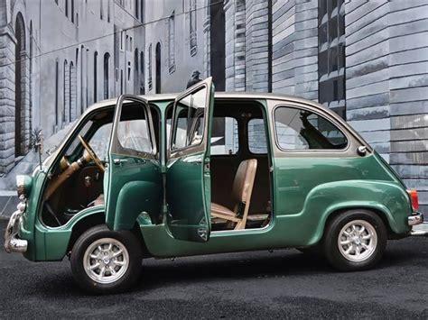 fiat multipla 600 custom fiat 600 multipla microvan a taste of italian