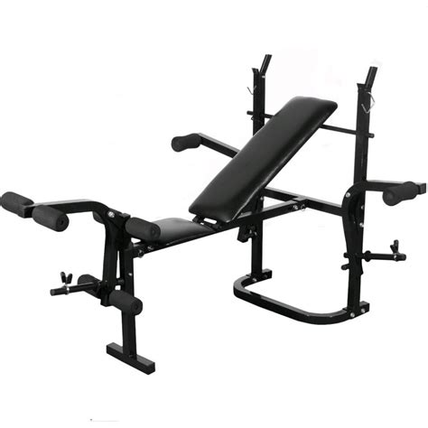 leg exercises on weight bench affordable variety fitness workout home gym folding