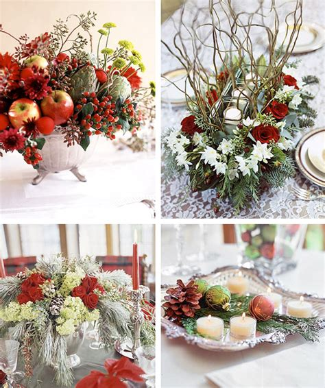 table arrangement 50 great easy christmas centerpiece ideas digsdigs